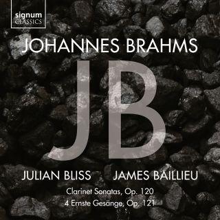Clarinet Sonatas Op. 120 – 4 Ernste Gesänge, Op. 121