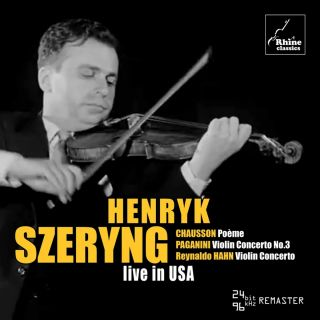 Henryk Szeryng – live in USA