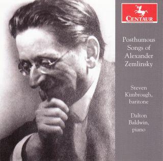 Posthumous Songs of Alexander Zemlinsky