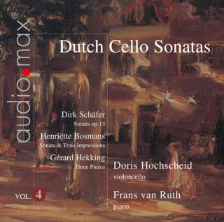 Dutch Cello Sonatas Vol.4