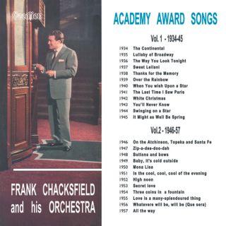 Academy Award Songs Volumes 1 & 2