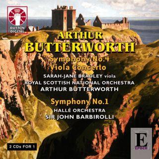 Viola Concerto / Symph. 1 & 4