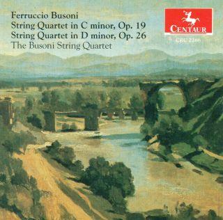String Quartets in C min,Op.19 & D min,Op.26
