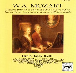 Complete works for two pianos and piano duets