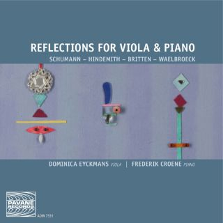 Reflections for viola and piano