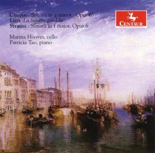 Sonatas For Cello And Piano/la Lugubre Gondola