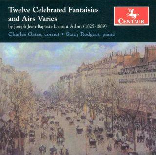 Twelve Celebrated Airs And Varies