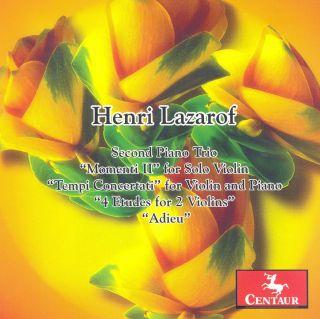 Second Piano Trio/momenti Ii For Solo Violin/...