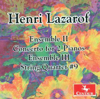 Ensembles Ii & Iii/concerto For 2 Pianos/...