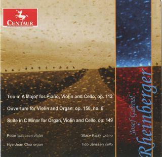 Piano Trio In A Maj/6 Pieces For Violin And Organ/