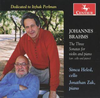 The Three Sonatas For Violin And Piano