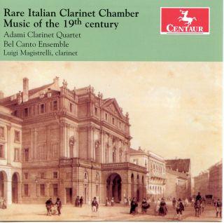 Rare Italian Clarinet Chamber Music Of The 19th Century