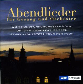 Abendlieder für Gesang und Orchester