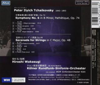 Symphony No.6/Serenade for Strings