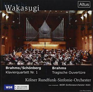 Tragic Overture/Piano Quintet No.1 (arr.Schönberg)