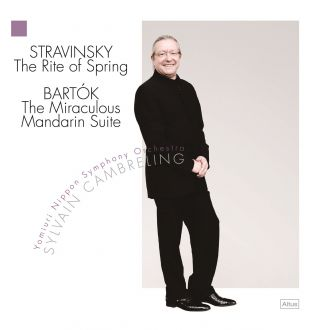 Stravinsky: The Rite of Spring / Bartók: The Miraculous Mandarin Suite