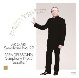 "Mozart: Symphony No.29 / Mendelssohn: Symphony No.3 ""Scottish"""