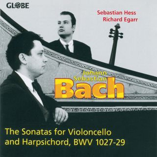 The Sonatas for Violoncello and Harpsichord, BWV 1027-29
