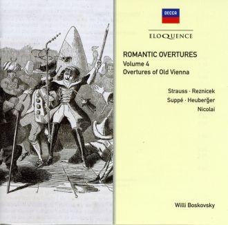 Romantic Overtures Vol.4: Overtures of Old Vienna