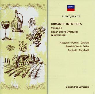 Romantic Overtures Vol.5: Italian Opera Overtures