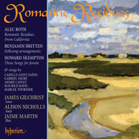 Romantic Residues – Songs for Tenor and Harp