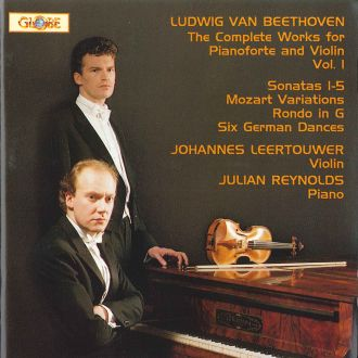 The Complete Works for Pianoforte and Violin Vol 1