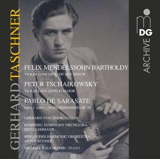 Violin Concertos: Mendelssohn, Tschaikowsky, Sarasate