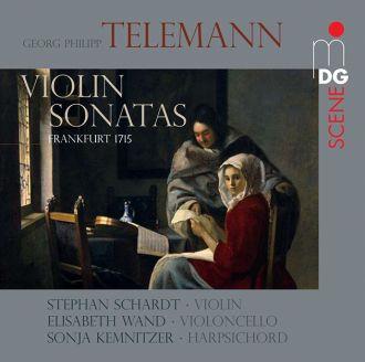 Telemann:  Violin Sonatas Frankfurt 1715