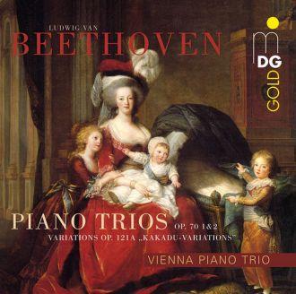 Beethoven: Piano Trios op. 70 1&2 Variations op. 121a