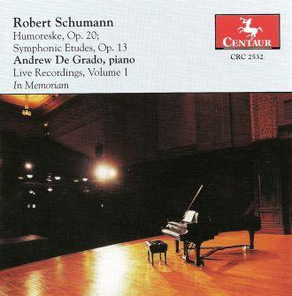 Humoresque, Op. 20 Symphonic Etudes, Op. 13