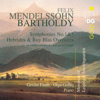 Symphonies Nos.1 & 5/Hebrides & Ruy Blas Ouverture