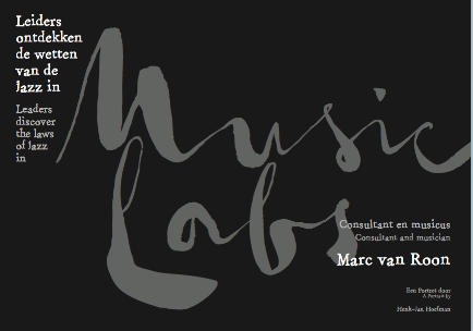 MUSIC LABS new brochure & article by Henk-Jan Hoefman