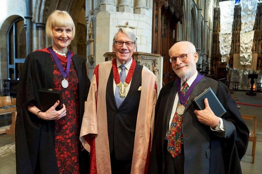 Hoge onderscheiding van Royal College of Organists