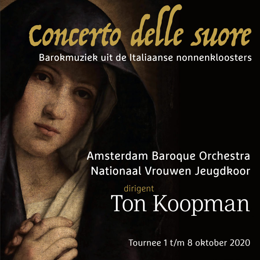 Wilma ten Wolde vervangt Ton Koopman deels in concertreeks Concerto delle suore