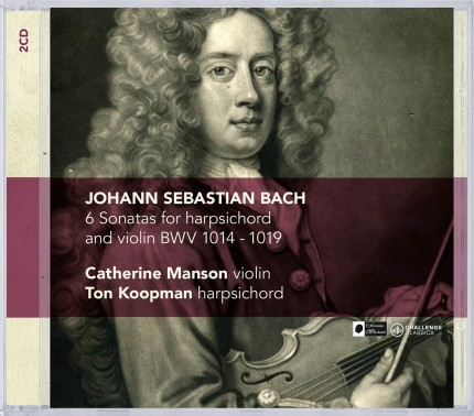 New Bach double-cd of Ton Koopman & Catherine Manson available soon!