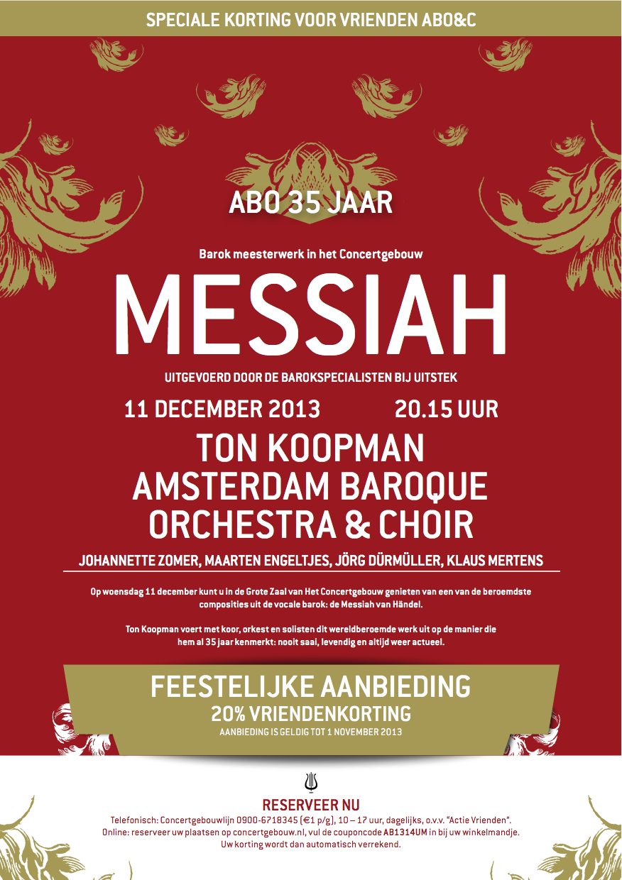 5-15 december 2013: Messiah