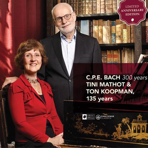 NIEUW: C.P.E. Bach cd met Tini Mathot