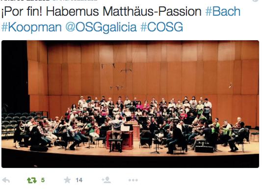 Habemus Matthäus-Passion