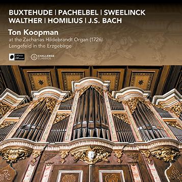 Nu verkrijgbaar: Ton Koopman op het Zacharias Hildebrandt Orgel (1726)