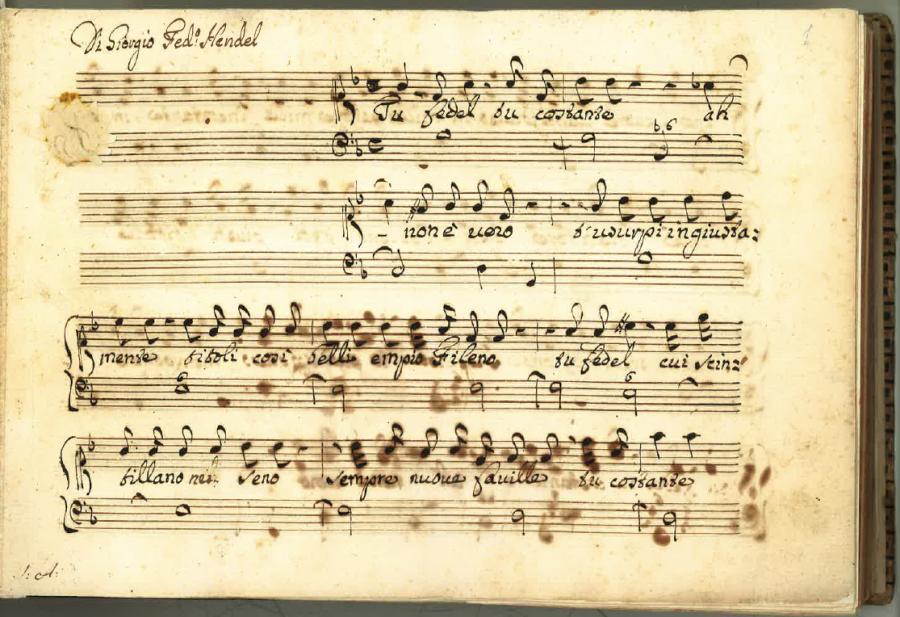 Première onbekende Händel door Ton Koopman in NTR ZaterdagMatinee op 9 april 2016