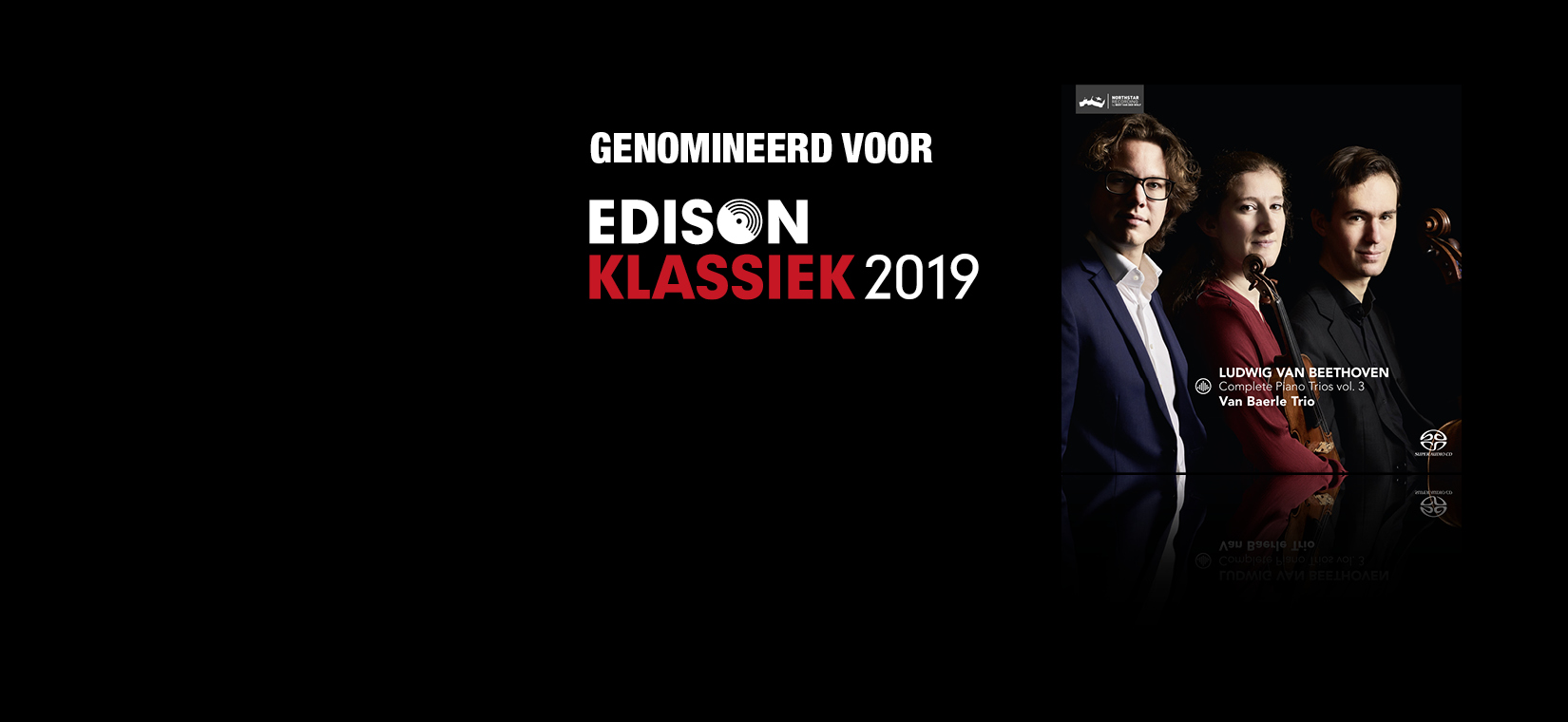 Van Baerle Trio nominated for Edison Audience Award 2019