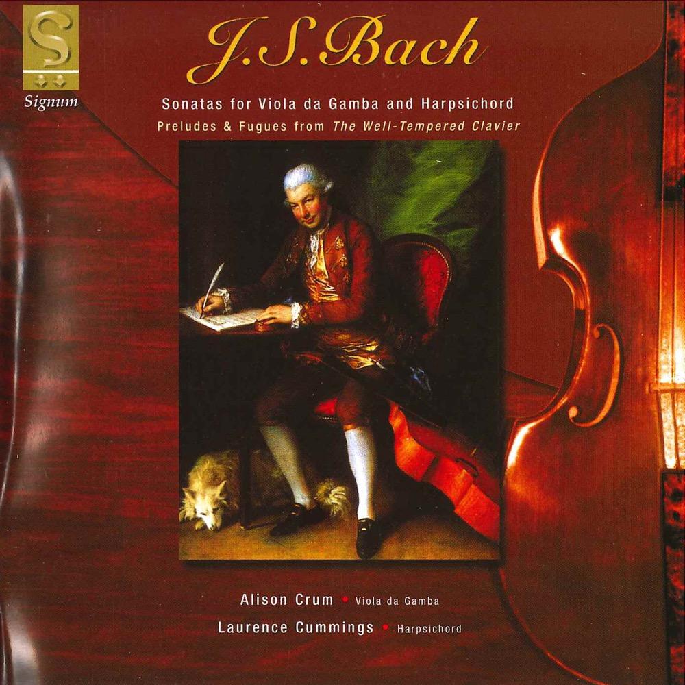 Amber Bach challenge records international - sonatas for viola da gamba