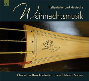 challenge records international italian and german christmas music chemnitzer barocksolisten jana buechner - German Christmas Music