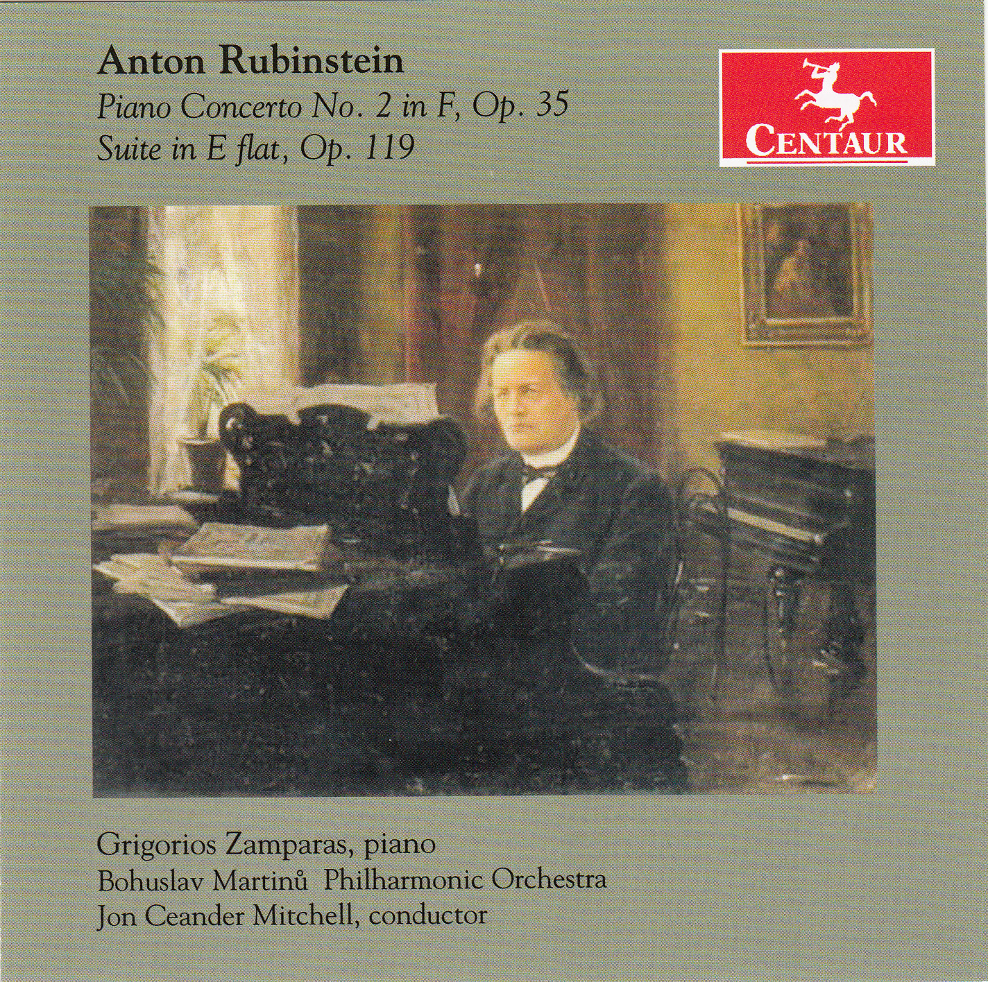 Pianist Anton Rubinstein: biography, students 31