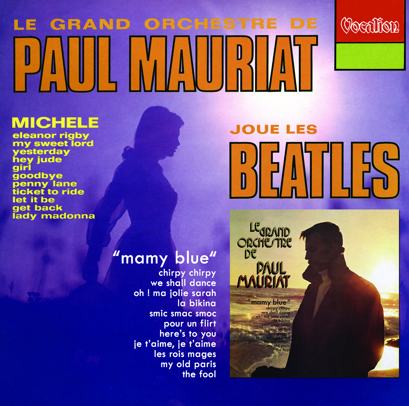 Challenge Records International - Paul Mauriat plays the Beatles ...