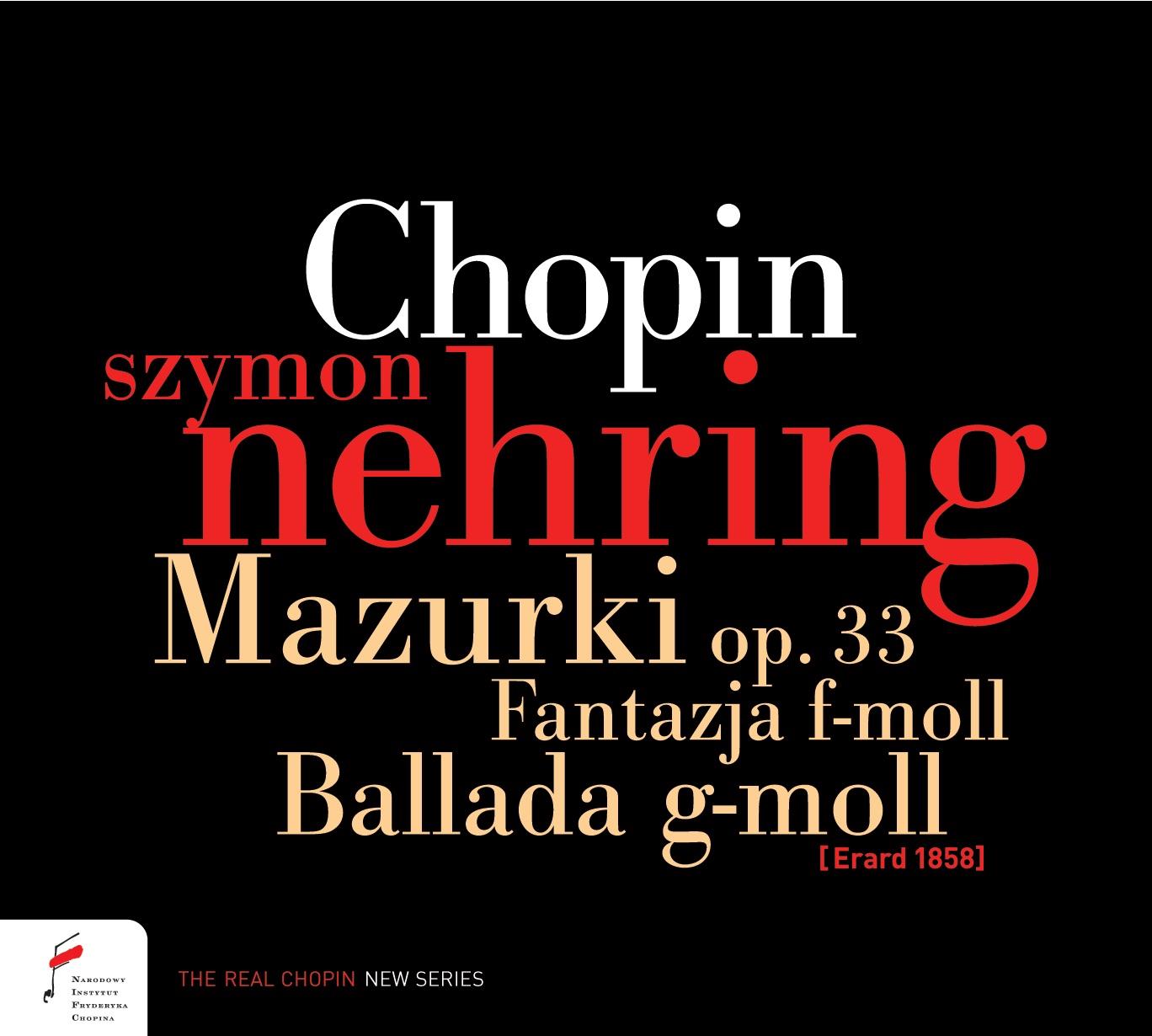 Chopin. 12 Etiud op. 25, Mazurki op. 33, Polonez