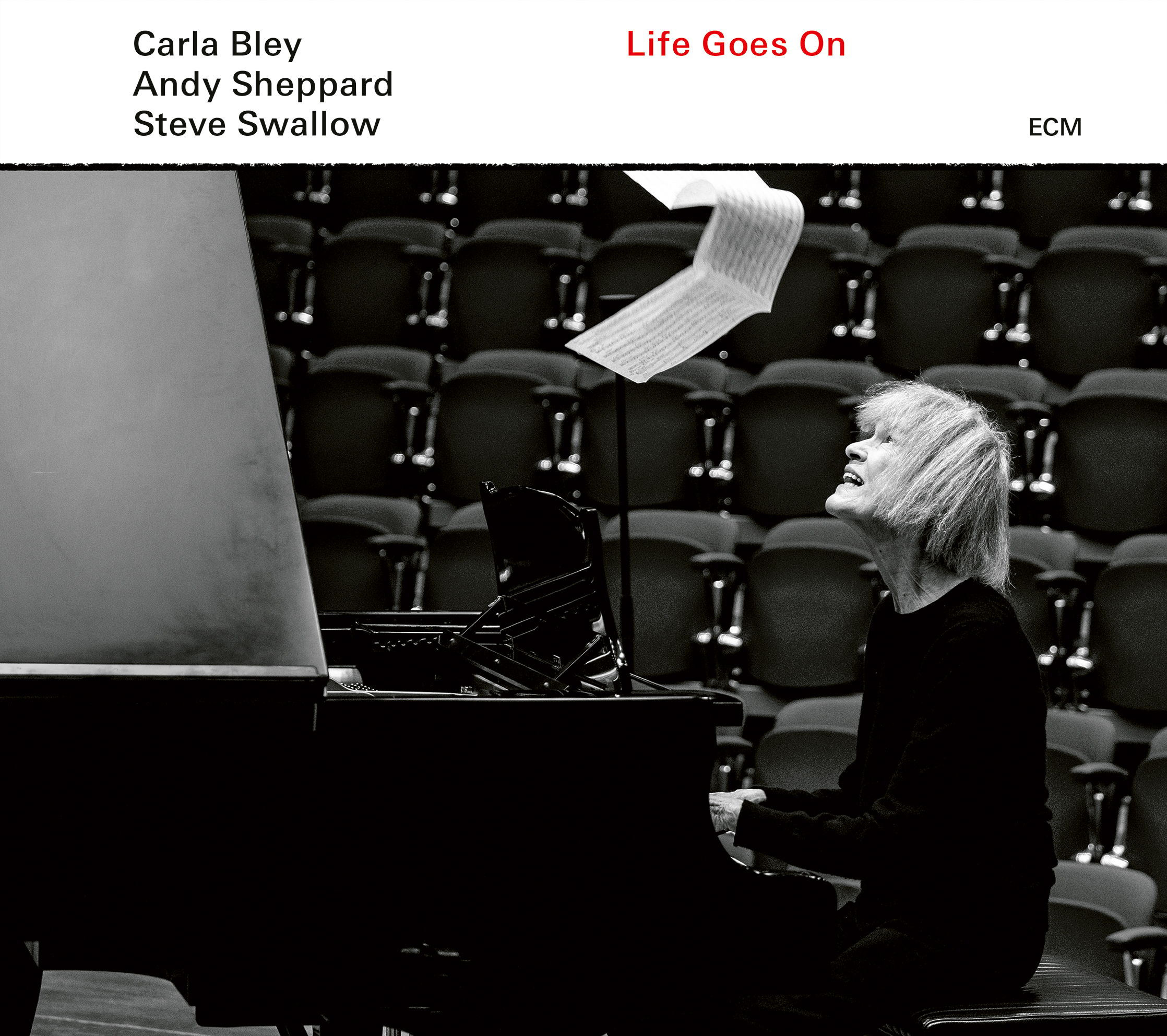 Image result for Carla Bley, Andy Sheppard, Steve Swallow - Life Goes On""